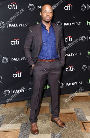 "Cornelius Smith Jr. attends the 33rd Annual Paleyfest: ""Scandal"" held at the Dolby Theatre, in Los Angeles"