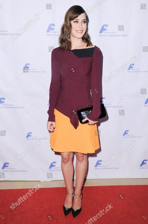 Actress Lizzy Caplan attends the 39th Annual Dinner Gala to Honor Steve Mosko held at the Beverly Hilton Hotel, in Beverly Hills, Calif