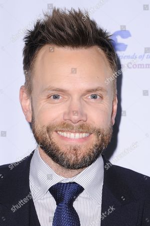 Joel McHale attends the 39th Annual Dinner Gala to Honor Steve Mosko held at the Beverly Hilton Hotel, in Beverly Hills, Calif
