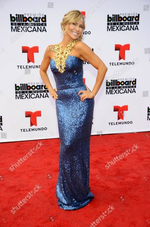 Aylin Mujica arrives at the 3rd Annual Billboard Mexican Awards at The Dolby Theatre on in Los Angeles