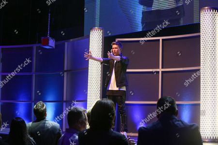 Collins Key performs at the 3rd Annual Reality TV Awards at the Avalon Hollywood, in Los Angeles