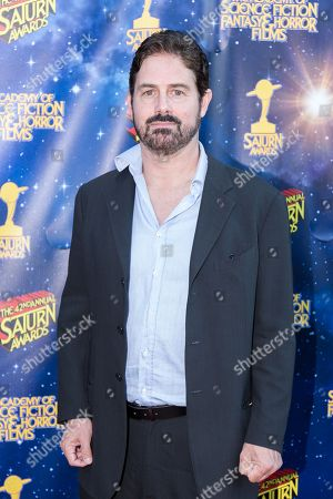 Stock Image of Zach Galligan arrives at The 42nd Annual Saturn Awards at the Castaway on Wednesday, June 22, in Burbank, Calif