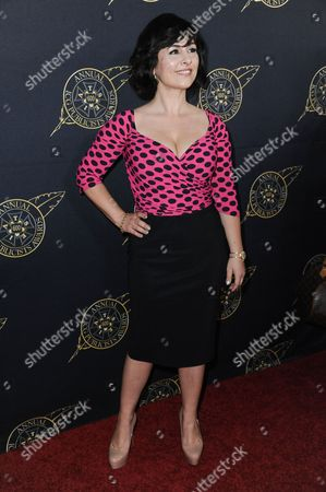 Maddalena Ischiale arrives at the 52nd Annual ICG Publicists Awards, in Beverly Hills, Calif