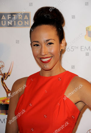 Marisa Quinn arrives at the Academy of Television Arts & Sciences Dynamic & Diverse 65th Emmy Awards Nominee Celebration, on in North Hollywood, Calif