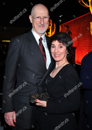From left, James Cromwell and Anna Stuart attend the 65th Primetime Emmy Awards Performers Nominee Reception, on at Spectra by Wolfgang Puck at the Pacific Design Center, in West Hollywood, Calif