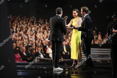Editorial photo of 68th Primetime Emmy Awards - Insider, Los Angeles, USA - 18 Sep 2016