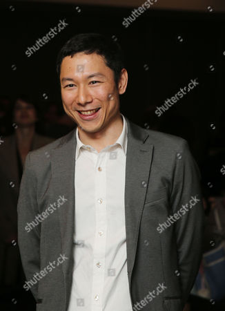 Yoshiaki Nishimura, arrives at 87th Academy Awards - Animated Features at Samuel Goldwyn Theater on Thursday, Feb.19, 2015, in Beverly Hills, Calif