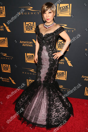 Sumi Jo arrives at the Fox 88th Academy Awards after party, at the Hollywood Athletic Club in Los Angeles