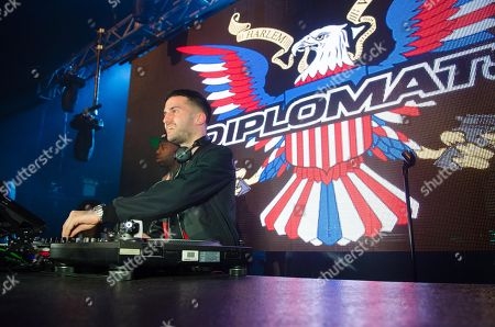 DJ/producer A-Trak performs in concert at Terminal 5, in New York