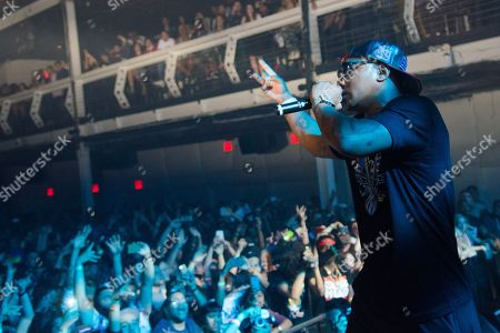 Rapper Cam'ron performs along with DJ/producer A-Trak performs in concert at Terminal 5, in New York