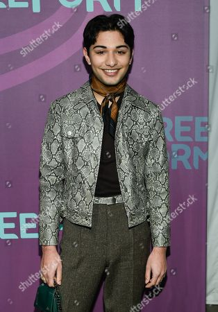 Actor Mark Indelicato attends the ABC Freeform 2016 Upfront at Spring Studios, in New York