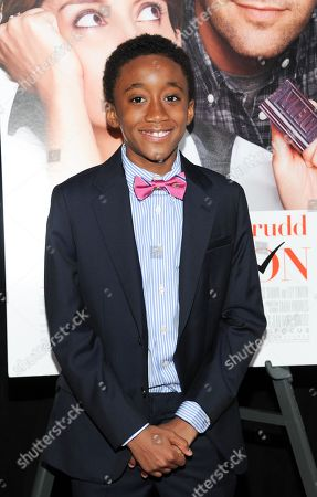 """Stock Photo of Actor Travaris Spears attends the premiere of """"Admission"""" at AMC Loews Lincoln Square on in New York"""