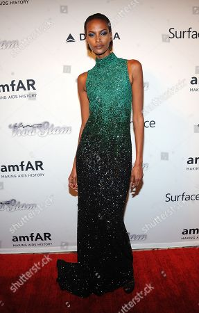 Stock Picture of Yasmin Warsame attends the amfAR Inspiration Gala at the The Plaza Hotel on in New York