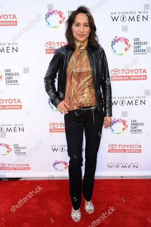 Michelle Bonilla arrives at An Evening with Women benefiting the Los Angeles LGBT Center held at the Hollywood Palladium, in Los Angeles