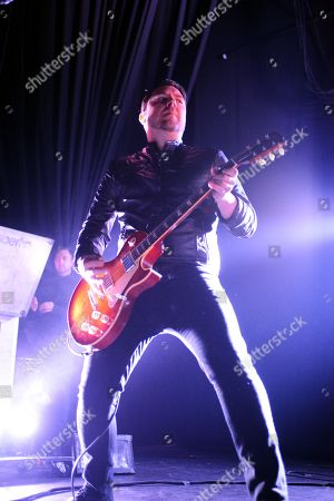 Joseph Milligan of Anberlin Performs, at Center Stage Theater, in Atlanta