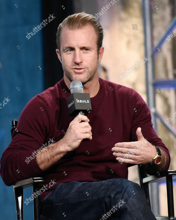 """Actor Scott Caan participates in AOL's BUILD Speaker Series to discuss the new film """"Rock The Kasbah"""" at AOL Studios, in New York"""