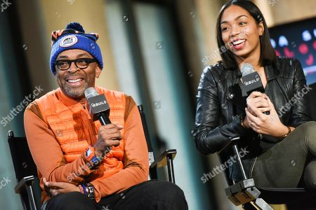Editorial picture of AOL's BUILD Speaker Series: Spike Lee and Zaraah Abrahams, New York, USA - 11 Feb 2015