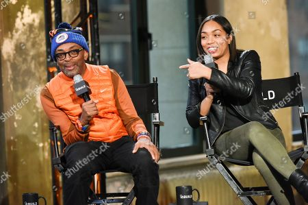 Editorial image of AOL's BUILD Speaker Series: Spike Lee and Zaraah Abrahams, New York, USA - 11 Feb 2015