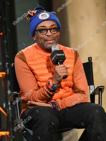Editorial photo of AOL's BUILD Speaker Series: Spike Lee and Zaraah Abrahams, New York, USA - 11 Feb 2015