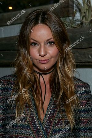 Stock Photo of Samantha Droke attends the BCBGeneration Summer Solstice Party at Gracias Madre on in Los Angeles