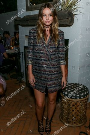 Stock Image of Samantha Droke attends the BCBGeneration Summer Solstice Party at Gracias Madre on in Los Angeles