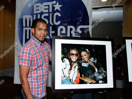 Stock Image of Hip Hop photographer Johnny Nunez was honored at the BET Music Matters party prior to the BET Hip Hop Awards at the 12th Hotel, in Atlanta, Ga. Several awards nominees, artists and music industry vets were on hand to celebrate the Music Matters initiative to promote emerging new artists