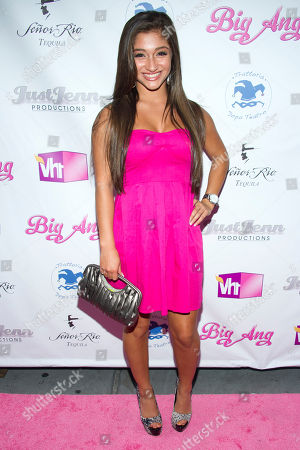 """Raquel Castro arrives to the premiere of the Vh1 reality show """"Big Ang"""" on in New York"""