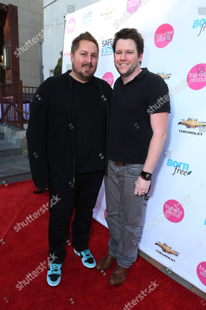 "Scout Masterson and Bill Horn at the Second Annual ""The Biggest Baby Shower Ever"", held at Taglyan Cultural Complex on Thursday, March, 14, 2013 in Los Angeles"