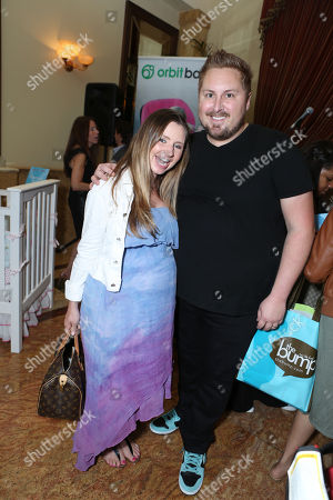 "Beverley Mitchell and Scout Masterson at the Second Annual ""The Biggest Baby Shower Ever"", held at Taglyan Cultural Complex on Thursday, March, 14, 2013 in Los Angeles"