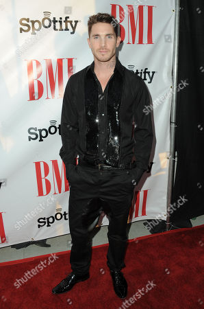 Blake McGrath arrives at the BMI Urban Awards on in Beverly Hills, Calif