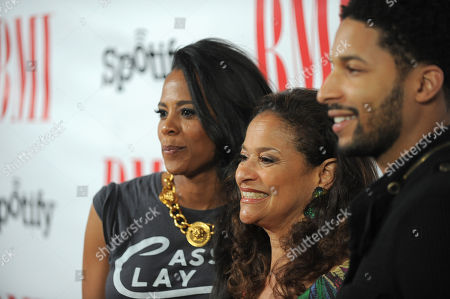 Laurieann Gibson, Debbie Allen and Norman Nixon Jr. arrive at the BMI Urban Awards on in Beverly Hills, Calif