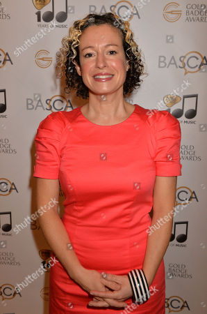 Stock Photo of Folk singer Kate Rusby at the British Academy of Songwriters Composers and Authors Gold Badge awards at the Savoy in London