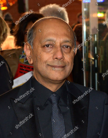 Producer Anant Singh attends the UK Premiere of 'Mandela: Long Walk To Freedom' at the Odeon Leicester Square in London on