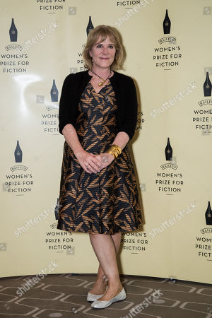 Shortlisted novelist for the Baileys Women's Prize for Fiction Award, Hannah Rothschild, for her book 'The Improbability of Love', poses for photographers during a photo call before the Baileys Women's Prize for Fiction Awards Ceremony in London