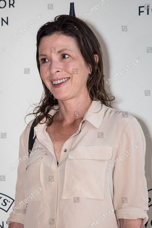 Stock Photo of Rachel Cusk poses for photographers upon arrival at the Baileys Women's Prize for Fiction Awards Ceremony in London