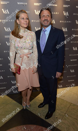 Aliai Forte attends a private dinner celebrating the Victoria and Albert Museum's new exhibition 'The Glamour Of Italian Fashion 1945 - 2014' at Victoria and Albert Museum on Tuesday, April. 1st, 2014
