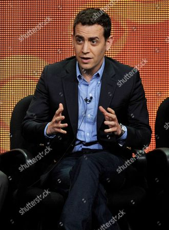 """Executive producer/director Jason Winer participates in """"The Crazy Ones"""" panel at the CBS Summer TCA, at the Beverly Hilton hotel in Beverly Hills, Calif"""