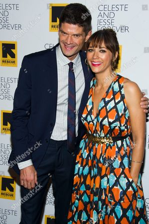 "Rashida Jones and Will McCormack attend the ""Celeste and Jesse Forever"" premiere on in New York"
