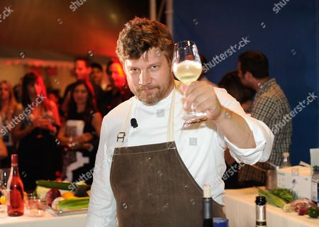 Chef Ben Ford participates in the Chase Sapphire Preferred Chef Challenge during the Ultimate Bites of L.A. at the Los Angeles Food & Wine Festival, presented by FOOD & WINE, on in Los Angeles