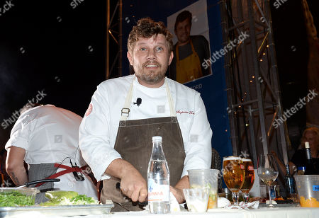 Editorial photo of Chase Sapphire Preferred Chef Challenge at Ultimate Bites of L.A, Los Angeles, USA - 21 Aug 2014