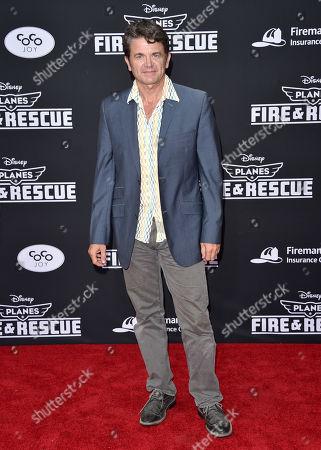 John Michael Higgins arrives at the premiere of Disneyâ?™s Planes: Fire & Rescue sponsored by Coco Joy Kids at El Capitan, in Los Angeles