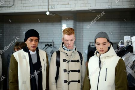 Editorial photo of Collections: Men AW14 - Day 2, London, United Kingdom - 7 Jan 2014