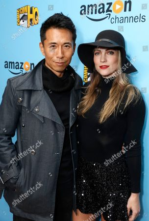 James Kyson and Jamee Kyson seen at the Lionsgate, Comic-Con HQ and Amazon Channels celebration for the new seasons of Con Man, Kings of Con and Mark Hamill's Pop Culture Quest at the Paley Center in Beverly Hills