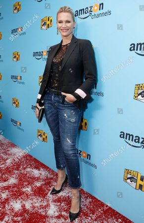 Natasha Henstridge seen at the Lionsgate, Comic-Con HQ and Amazon Channels celebration for the new seasons of Con Man, Kings of Con and Mark Hamill's Pop Culture Quest at the Paley Center in Beverly Hills