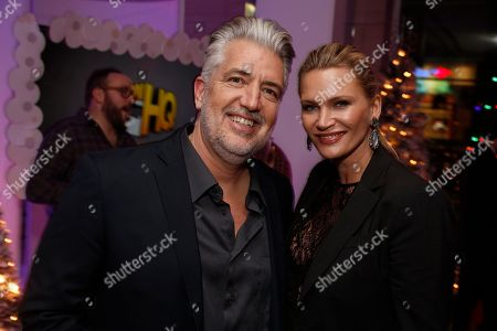 P.J. Haarsma and Natasha Henstridge seen at the Lionsgate, Comic-Con HQ and Amazon Channels celebration for the new seasons of Con Man, Kings of Con and Mark Hamill's Pop Culture Quest at the Paley Center in Beverly Hills