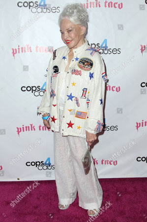"""Stock Picture of Lois Aldrin attends the Cops 4 Causes """"Heroes Helping Heroes"""" benefit at Pink Taco, in West Hollywood, Calif"""