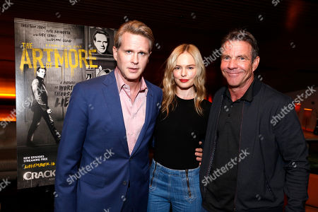 "Cary Elwes, Kate Bosworth and Dennis Quaid seen at Crackle's ""The Art of More"" SAG Screening at The Landmark, in Los Angeles"