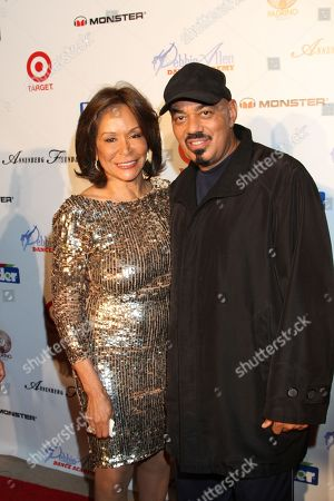 """Freda Payne and James Ingram seen at Debbie Allen's All Star Gala """"One Night Only"""", on Thursday, December, 12, 2013 at Royce Hall on the campus of UCLA in Los Angeles. California"""
