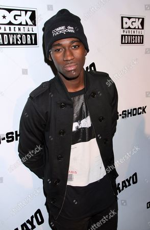 Actor Kwame Boateng attends Parental Advisory Premiere and Concert on Tuesday, December, 11th, 2012, at Avalon in Hollywood, California