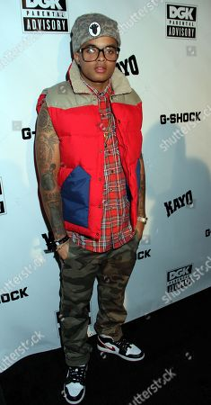 Recording artist Bobby Brackins attends Parental Advisory Premiere and Concert on Tuesday, December, 11th, 2012, at Avalon in Hollywood, California